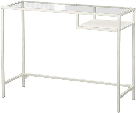 IKEA ASIA VITTSJO Mesa para Ordenador portátil, Cristal