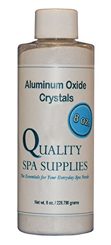 Microdermabrasion Crystals Oxide Aluminum (Aluminum Oxide Crystals - Microdermabrasion Crystals - 120 Grit, Pure White, 8oz)