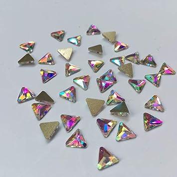Amazon.com  10Pc Crystal AB 3D Nail Art Rhinestones Gems Flatback Stones  DIY Decorations Manicure Diamond Jewelry Different Shapes For Nails  Size(6mm)4  ... 2f1c1a1b9811
