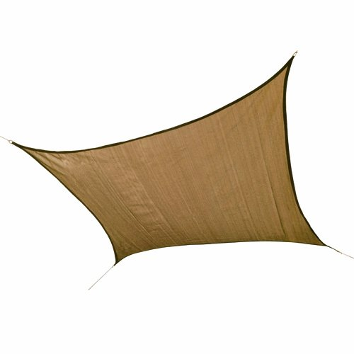 ShelterLogic Square Sun Shade Sail, 12-Feet, - Sports Shades Online
