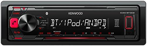 Kenwood KMM-BT302 Digital Media Receiver mit Bluetooth und A2DP, USB/Apple iPod-Steuerung schwarz