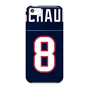 Blue background Houston Texans Powerful For Htc M7 Cover 3DCase Cover Shell