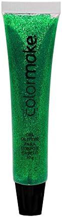 Gel Glitter Verde Bisnaga 30G Colormake, Colormake
