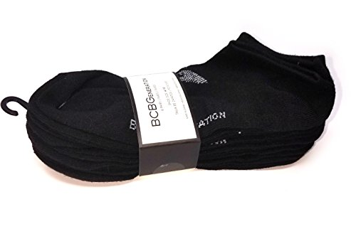 BCBGeneration 6 Pairs Women's Socks - Black (Shoe Size: 4-10)