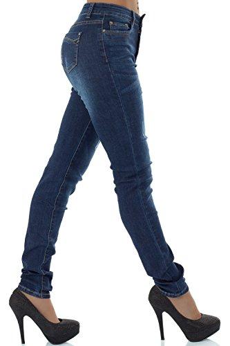 Malucas Malucas Jeans Jeans Skinny Skinny Blu Donna q4qp6OaZw