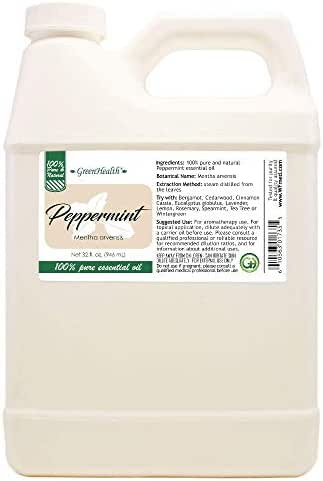 Peppermint 100% Pure Essential Oil - 32oz