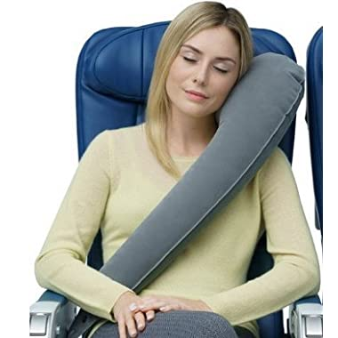 Travelrest - Ultimate Travel Pillow - Lean Into It & Sleep - Ergonomic Neck Pillow - Airplanes, Cars, Buses, Trains, Office Napping, Camping, Wheelchairs & Home (Ranked #1 by WSJ)