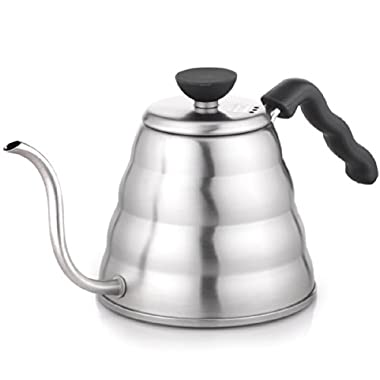 Hario V60 Buono Coffee Drip Kettle, 1.2 L