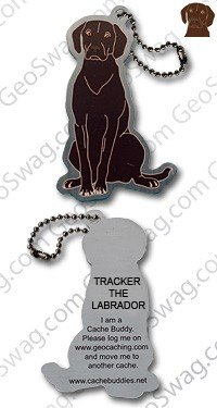 Dispatched Geo Tracker the Labrador Travel Tag, 11424, Multi, One Size