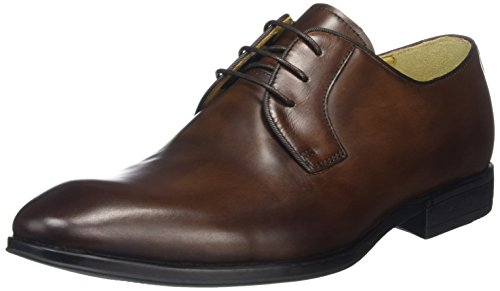 Steptronic, Scarpe stringate uomo Brown (Brown)