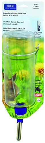 Lixit Animal Care DLB-32 Bottle, 32 oz, Clear