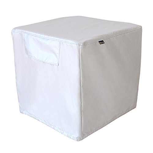 Great Deal! Mr.You Square Air Conditioner Cover Heavy Duty Waterproof Durable For outdoor 5 YR Warra...