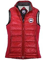 hybridge canada goose jacket men red