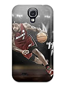 Hot SVs-621LkjRowqH Lebron James Tpu Case Cover Compatible With Galaxy S4