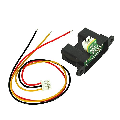 Infrared IR Distance / Proximity Sensor Sharp GP2Y0A02YK0F with 20cm to 150cm Measuring Range and Analog Output from Optimus Electric