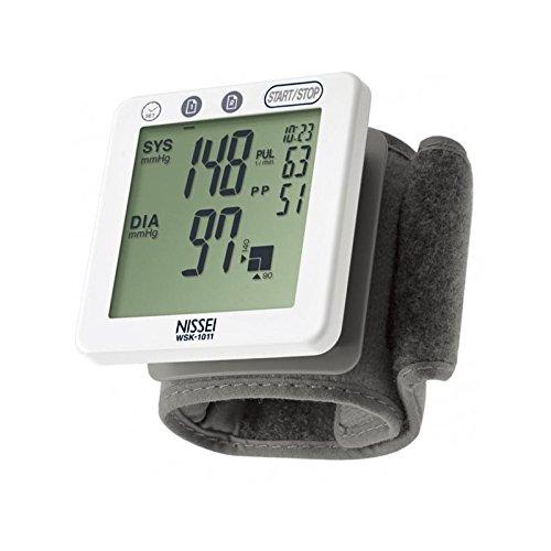 Mch-Tensiómetro de muñeca NISSEI WS-1011-NIS017: Amazon.es: Salud y cuidado personal