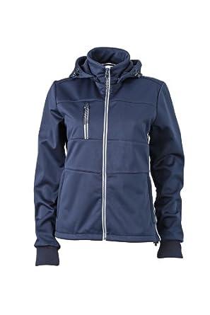 James /& Nicholson Sofshell Ladies Maritime Jacket Chaqueta para Mujer
