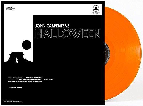 John Carpenter - Halloween [12 Inch Single][Exclusive Orange Vinyl]]()