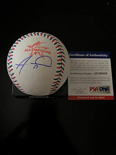 Alex Wood Autographed Signed 2017 All-Star Game Ball Coa Cincinnati Reds - Authentic Memorabilia
