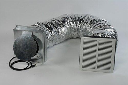 Tamarack TT-CQ1100 Ducted Whole House Fan Kit by Tamarack
