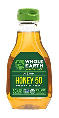 Price comparison product image Whole Earth Sweetener,  Organic Honey & Stevia Blend,  Low-Calorie,  12-Ounce