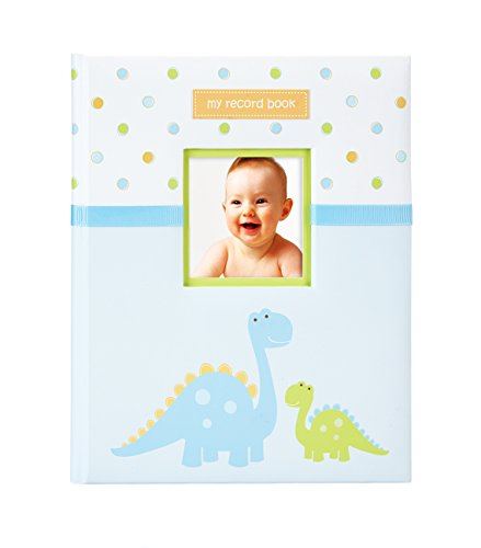 Tiny Ideas Dinosaur Baby Memory Book Photo Journal, Cherish Every Precious Moment of Your Baby, Perfect Baby Shower Gift]()