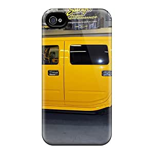 Perfect Fit RDgSMNJ6805cCber Yellow Hummer Case For Iphone - 4/4s