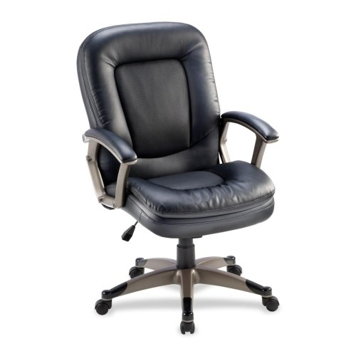 Lorell Mid-Back Management Chair 69519 LLR69519
