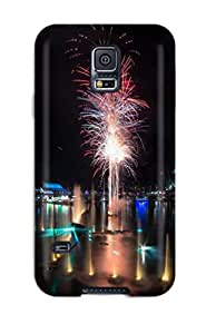 Cute High Quality Galaxy S5 Darling Harbour Fireworks Case 3236955K15552973