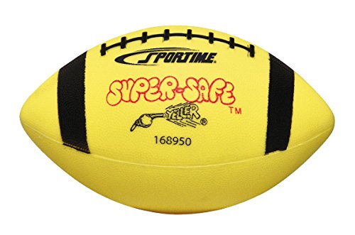 Sportime Super-Safe Youth Football, Yellow/Black -