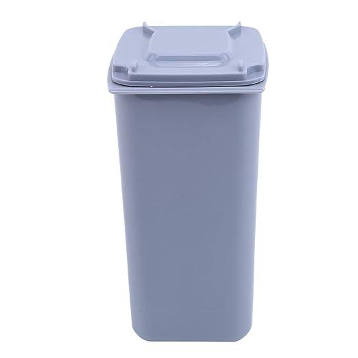 NYAOLE - Mini Papelera de plástico para Escritorio, Papelera para ...