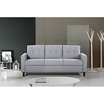 Amazon.com: US Pride Furniture Rossetti - Sofá tapizado de ...