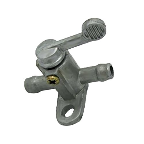 1 Piece 5//16 Inch Inline Gas Fuel Petcock Tank Valve Tap On Off Switch for ATV Quad