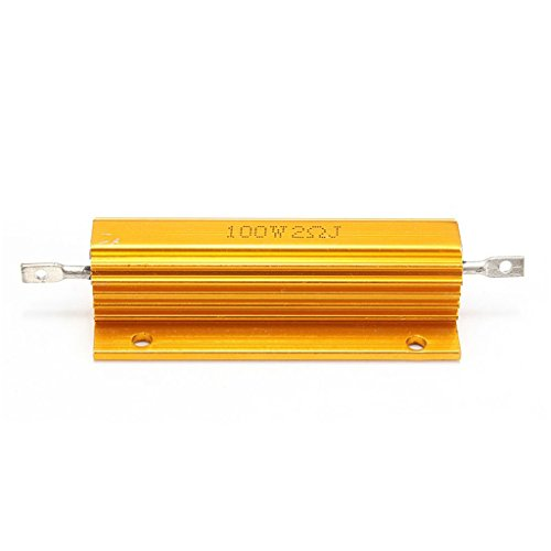 100W Watt Aluminum Shell Power Housed Case Wirewound Resistor 5 Ohm