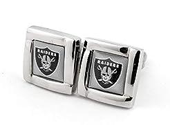 aminco NFL Logo Square Cufflinks with Gi...