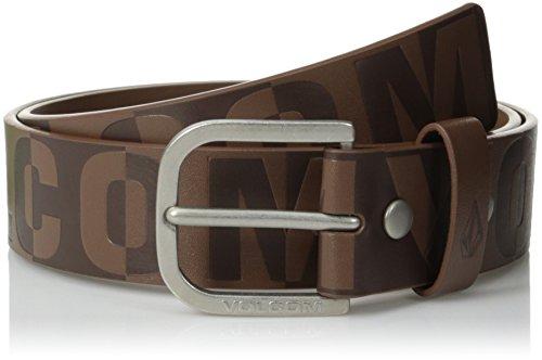 Volcom Men's Divot Belt, Brown, 36 - Volcom Mens Belt Buckle Shopping Results