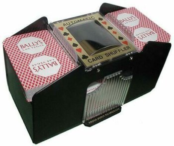 1-4 Deck Automatic Playing Card Shuffler [Misc.] Old Vegas Poker Chips