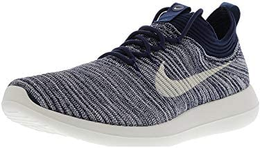 697e2d0e48df Amazon.com  Nike Women s Roshe Two Flyknit V2 College Navy Sail Ankle-High  Running Shoe - 8.5M  Nike  Home   Kitchen