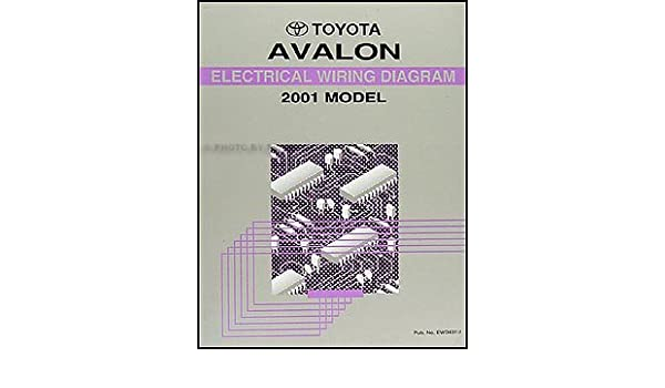 toyota avalon wire diagram 2001 toyota avalon wiring diagram manual original toyota amazon  2001 toyota avalon wiring diagram