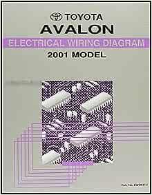 2001 Toyota Avalon Wiring Diagram Manual Original: Toyota: Amazon.com: BooksAmazon.com