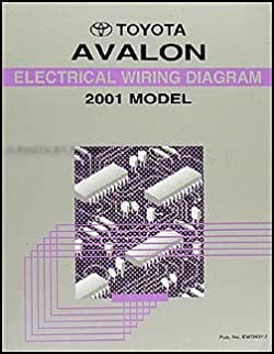 2001 toyota avalon wiring diagram manual original toyota amazon rh amazon com 99 avalon wiring diagram 07 avalon wiring diagram