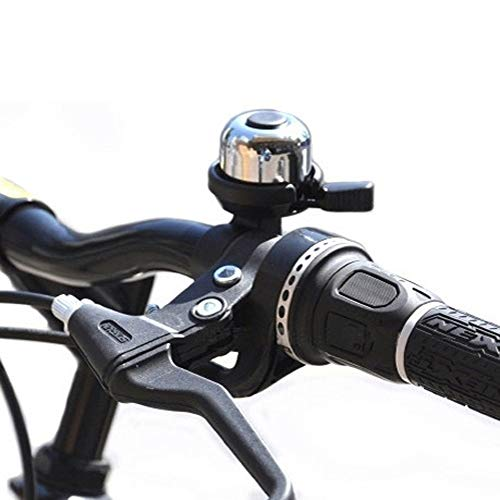 Loneflash Bicycle Horn ,Classic Bicycle Bike Bell, Plastic Copper Bike Bell, Loud Crisp Clear Sound Bike Ring Horn Accessories