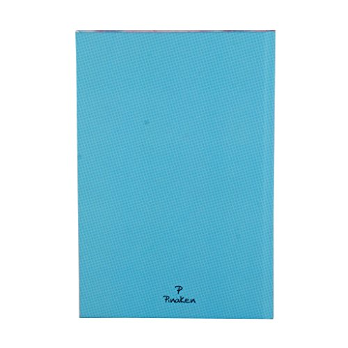 Classic softcover Perfect for Travel Notebook Journal Diary College Ruled Story Writing in Paper for Men Women & Girls with Bookmark Enclosed (7 in X 5 in) by Pinaken (Image #1)