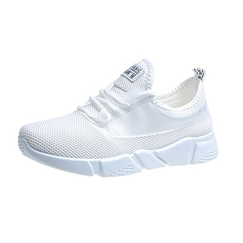 Summer Women Socks Sneakers Breathable Mesh Running Shoes Sport Walking Shoes White 6