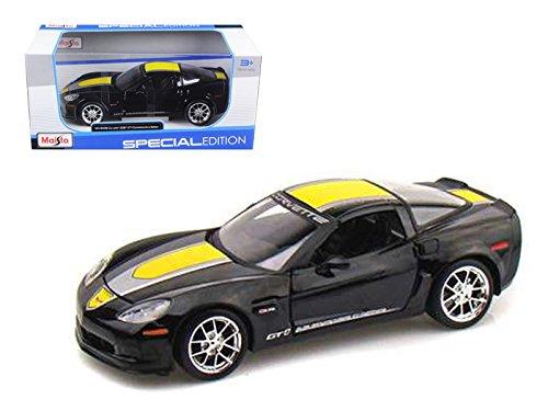 2009 Chevrolet Corvette C6 Z06 GT1 Black Commemorative Edition Car Model 1/24 by Maisto ()