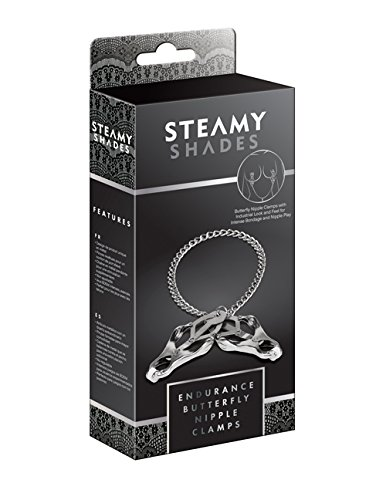 Steamy Shades Endurance Butterfly Nipple Clamps
