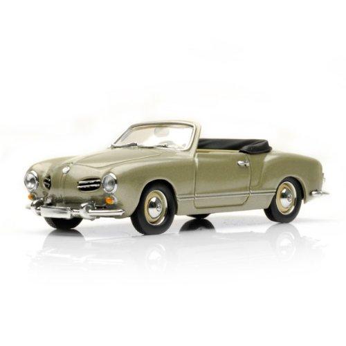 VW Karmann Ghia Cabriolet 1957 - Graumet. - 1 of 1.008 pcs. [Spielzeug]