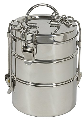(To-Go Ware 3-Tier Stainless Lunch)