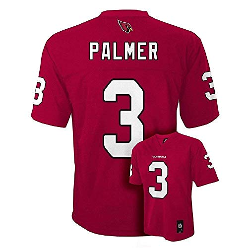 Carson Palmer Arizona Cardinals NFL Youth Red Home Mid-Tier Jersey (Youth Medium 10-12)