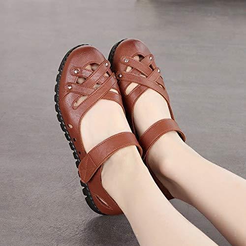 Eu Marron Noir Zhrui Taille 41 couleur Shoes wgxRqIv